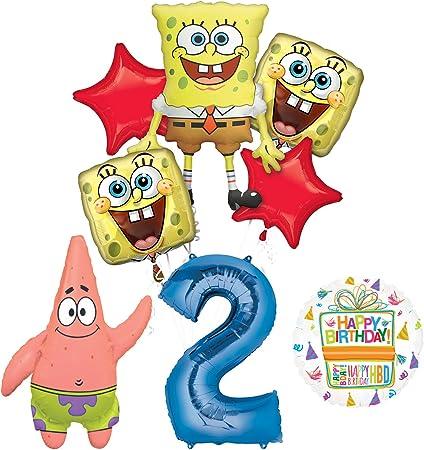 Amazon.com: Bob Esponja 2 nd Fiesta de cumpleaños ...