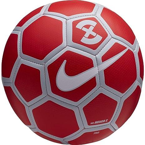 8eb85bfe046 Amazon.com   NIKE FootballX Menor Soccer Ball (Bright Crimson Pure ...