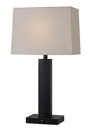Kenroy home 32758orb innkeeper table lamp