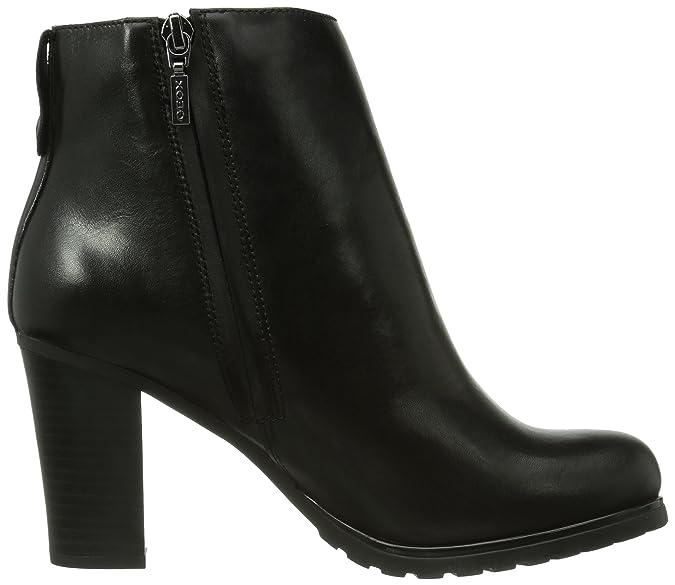 d8088d6a92d Geox Trish Amphibiox B, Women's Biker Boots, Black, 7 UK (40 EU):  Amazon.co.uk: Shoes & Bags