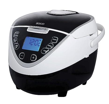 Sogo OLL-SS-10760 Robot de Cocina automático, 900 W, 5 litros
