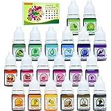 20 Color Bath Bomb Soap Dye - Liquid Food Grade Soap Coloring for DIY Soap Making, Slime Supplies, Handmade Bath Bombs…