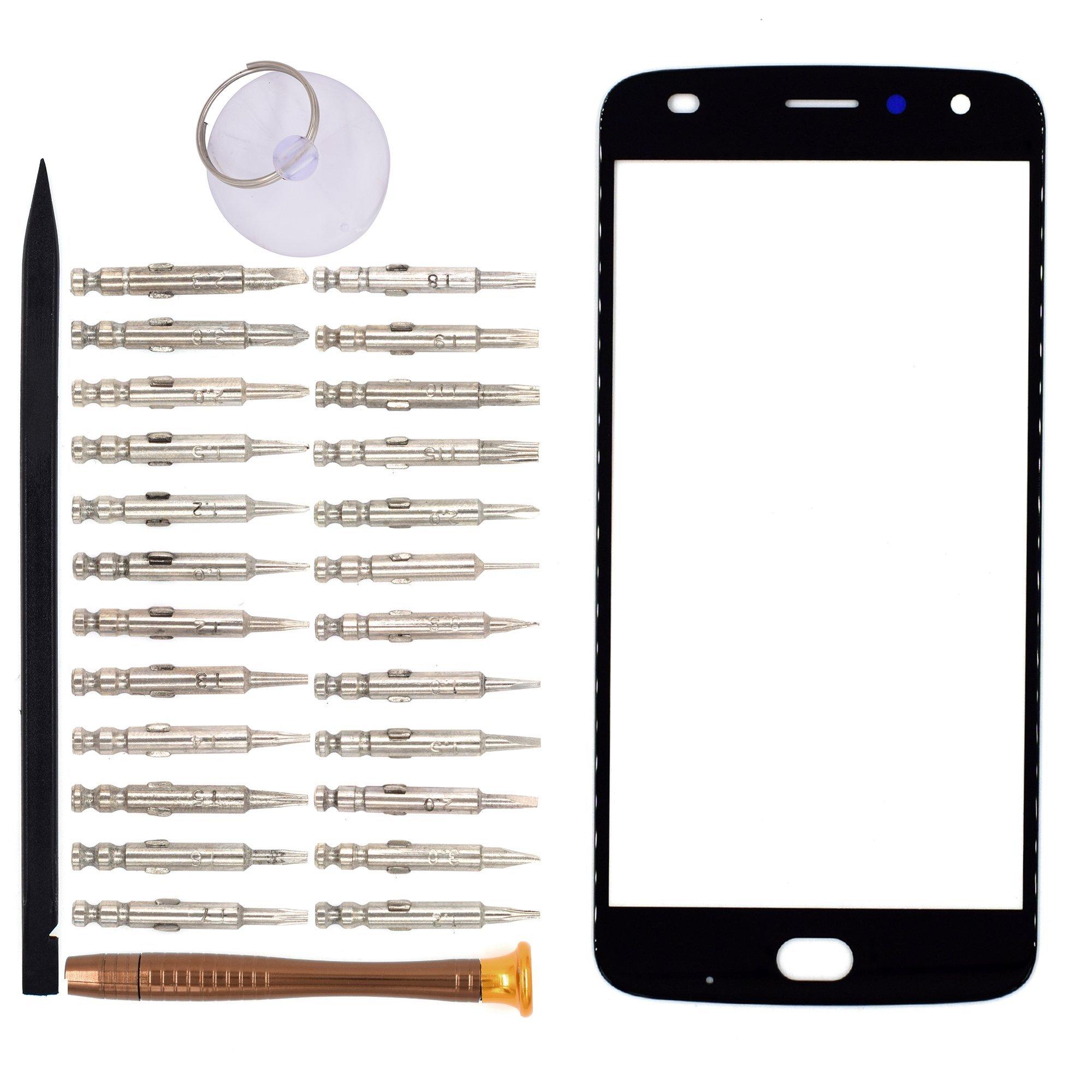 Vidrio Frente Para Motorola Moto Z2 Play Negro [goodyitou]