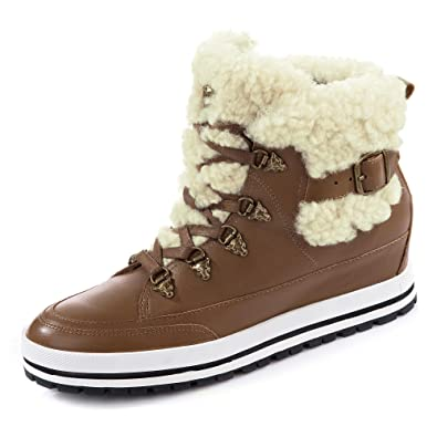 Marc Cain Boots, Groesse 36, Braun