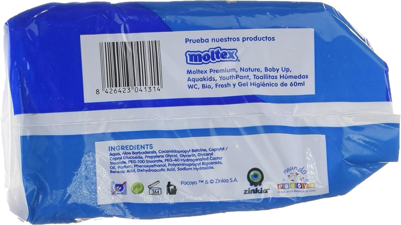 Moltex Premium Bolsita de Toallitas Húmedas para Bebé - 216 Toallitas: Amazon.es: Salud y cuidado personal