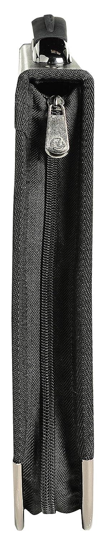 A4, 4 Anillas Goldline 305748 Negro Portafolio de presentaci/ón