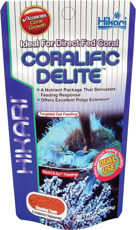 Hikari Coralific Delite Coral Food, 1.23 oz (35g)
