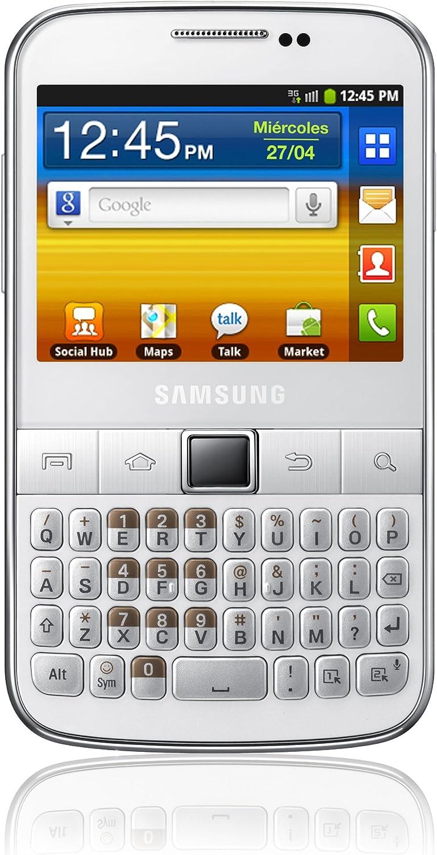 Samsung B5510 Galaxy Y Pro - Smartphone libre Android (pantalla de ...