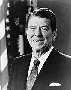 "Ronald Reagan Photograph - Historical Artwork from 1981 - US President Portrait - (8"" x 10"") - Semi-Gloss"