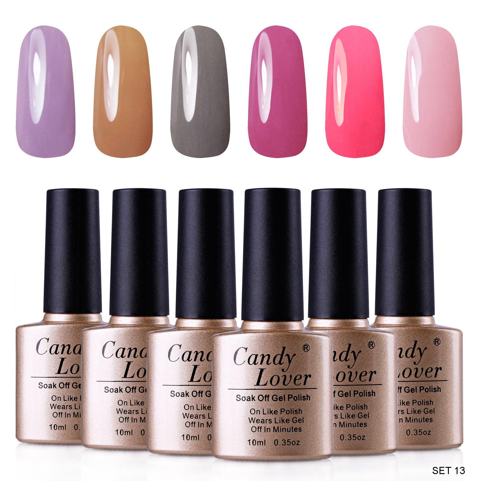 Amazon.com : Candy Lover Gel Nail Polish Prime UV LED Soak Off ...