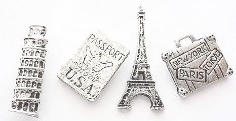 amazon com 30 off 15 pieces antique silver decorativetravel push