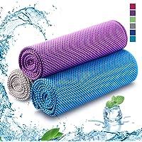 Koelhanddoek Cooling Towel Cool Towel Koelhanddoek Koel Handdoek Koeldoek Set Bamboe Koeldoek Golf Handdoeken Microvezel Handdoek Strandhanddoek Fitness Handdoek Sport 100 x 30cm