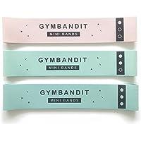 GYMBANDIT - The Heavy Set - 3 Ultra-Heavy Mini Loop Resistance Bands