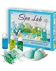 Sentosphere 3900256 Spa Lab - Juego de creación de jabón y sales de baño [Importado de Alemania]