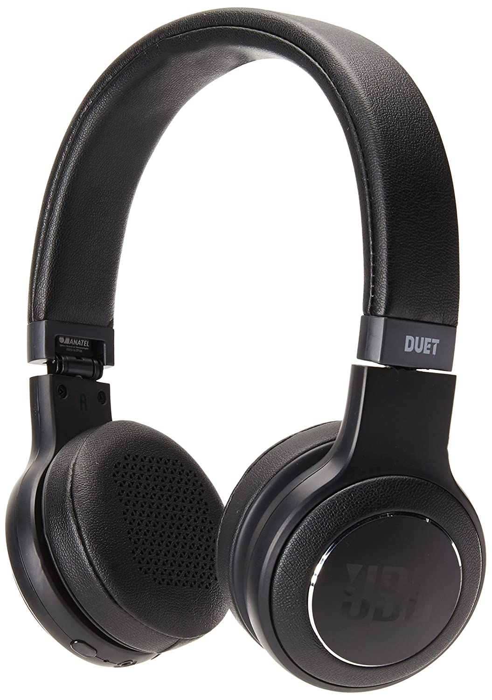 75c46bfb9a1 Amazon.com: JBL Duet Bluetooth Wireless On-Ear Headphones - Black: Cell  Phones & Accessories