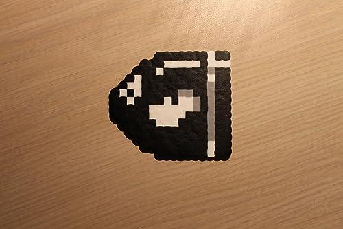 Amazon Com Bullet Bill Pixel Art Bead Sprite From Super Mario