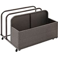 Deals on Crosley Furniture Palm Harbor Wicker Rolling Pool Float Caddy