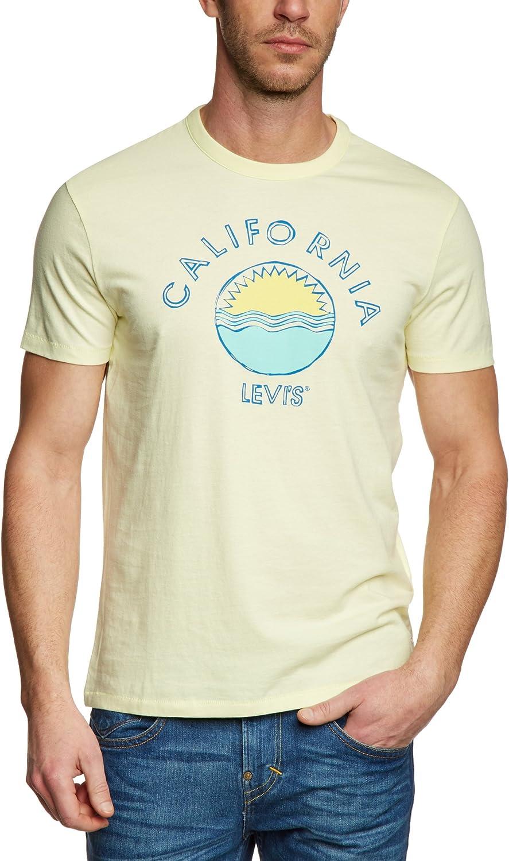 Levis California Camiseta, Amarillo (Tender Yellow), XL para ...