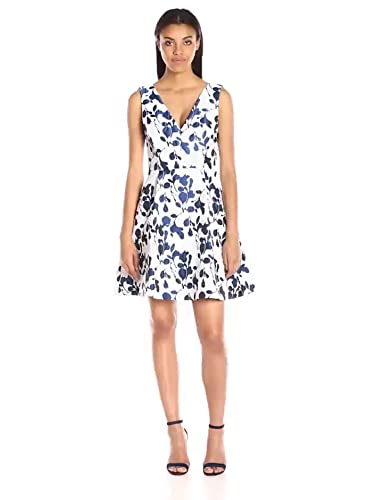 8f1b791b3b3 Amazon.com  Betsey Johnson Women s Floral-Jacquard Dress