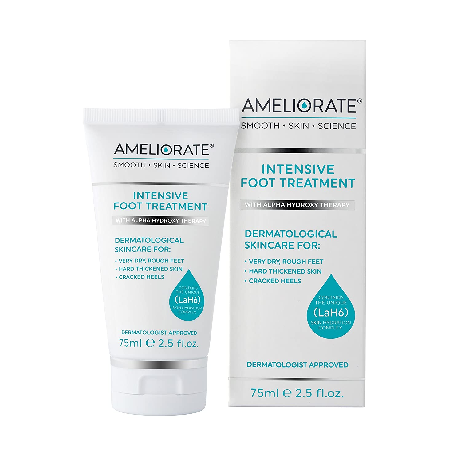 AMELIORATE Intensive Foot Treatment 75 ml 05035267024020