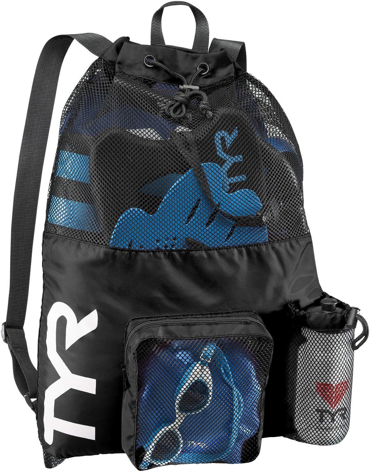 TYR Big Mesh Mummy Backpack, Black, 25-1/4'' x 19''