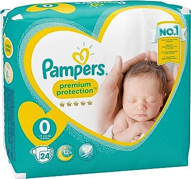 Pampers - New Baby Micro Pañales, talla 0 (1 - 2.5 kg), Pack de 2 (x 48 pañales): Amazon.es: Salud y cuidado personal