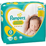 Pañales New Baby Talla 0 micro (1-2,5 kg) - Paquete x 24 pañales