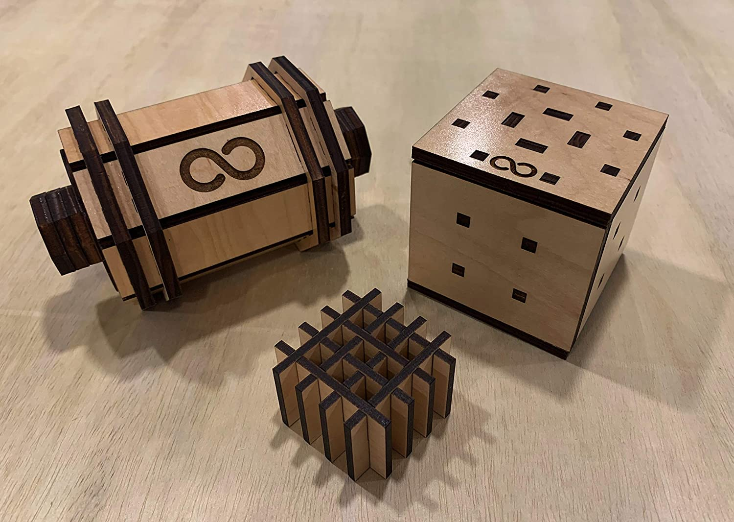 Antares Wooden Puzzle Box 11 Step