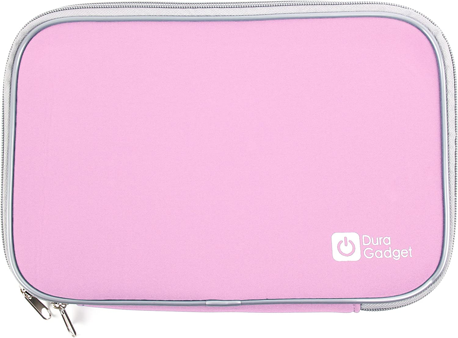 DURAGADGET Secure Pink Water Resilient Neoprene Case - Compatible with Acer Iconia W3 | Iconia A3/Hannspree Tablet PC SN97T41W/TrekStor SurfTab ventos | SurfTab Xiron | SurfTab Ventos