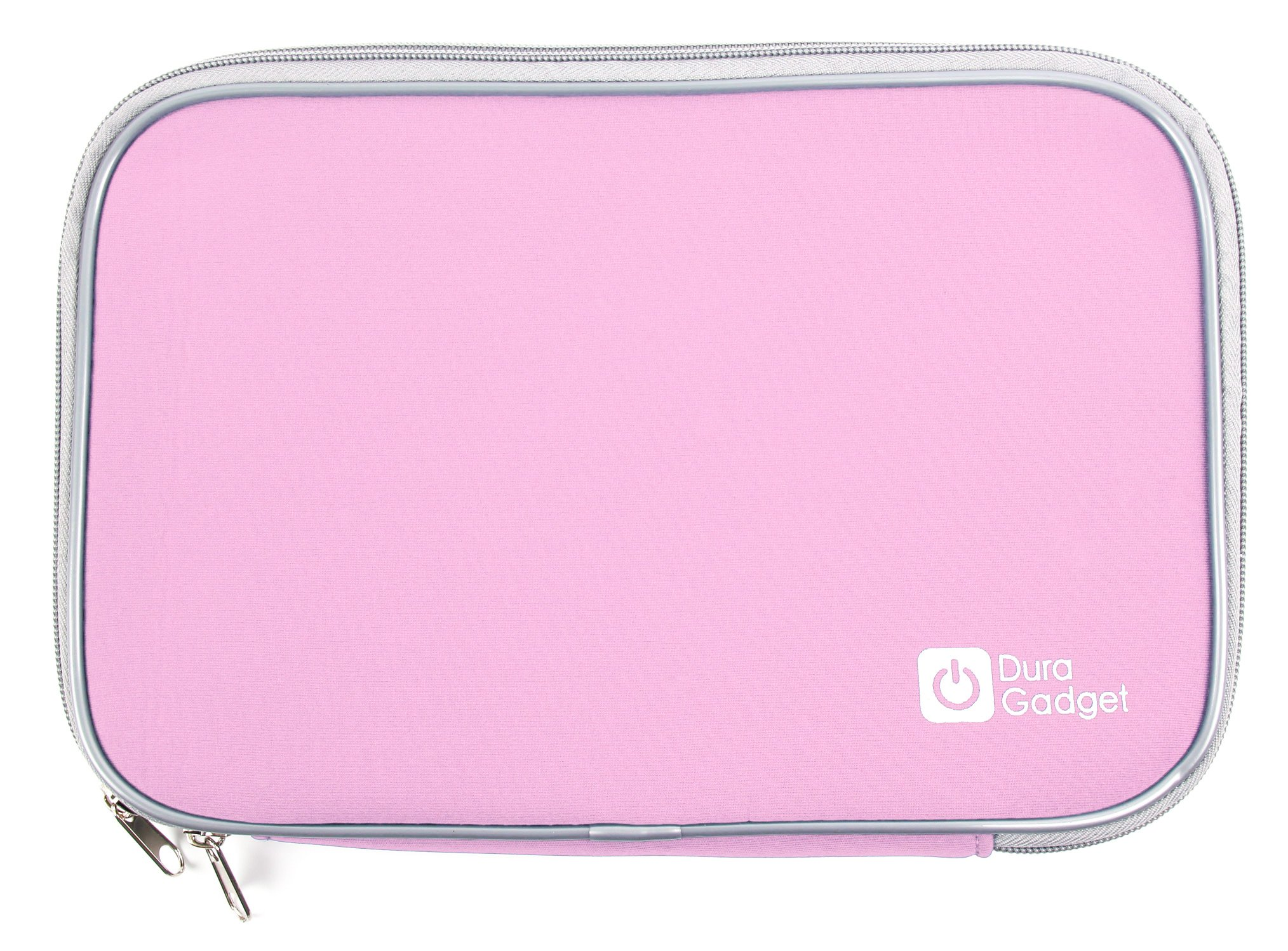 DURAGADGET Secure Pink Travel Splash Resistant Neoprene Cover For Amazon Kindle Fire HD 8.9, 8.9 4G Amazon Kindle Fire HDX, Amazon New Kindle Fire HD 8.9'' & Amazon Kindle Fire HDx 8.9''
