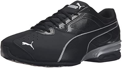 buy popular 5e508 3673c PUMA Men s Tazon 6 FM Puma Black  Puma Silver Running Shoe - 7 D(