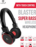 Tantra Blaster Super Bass Bluetooth Wireless Headphone with Touch Control (Black)