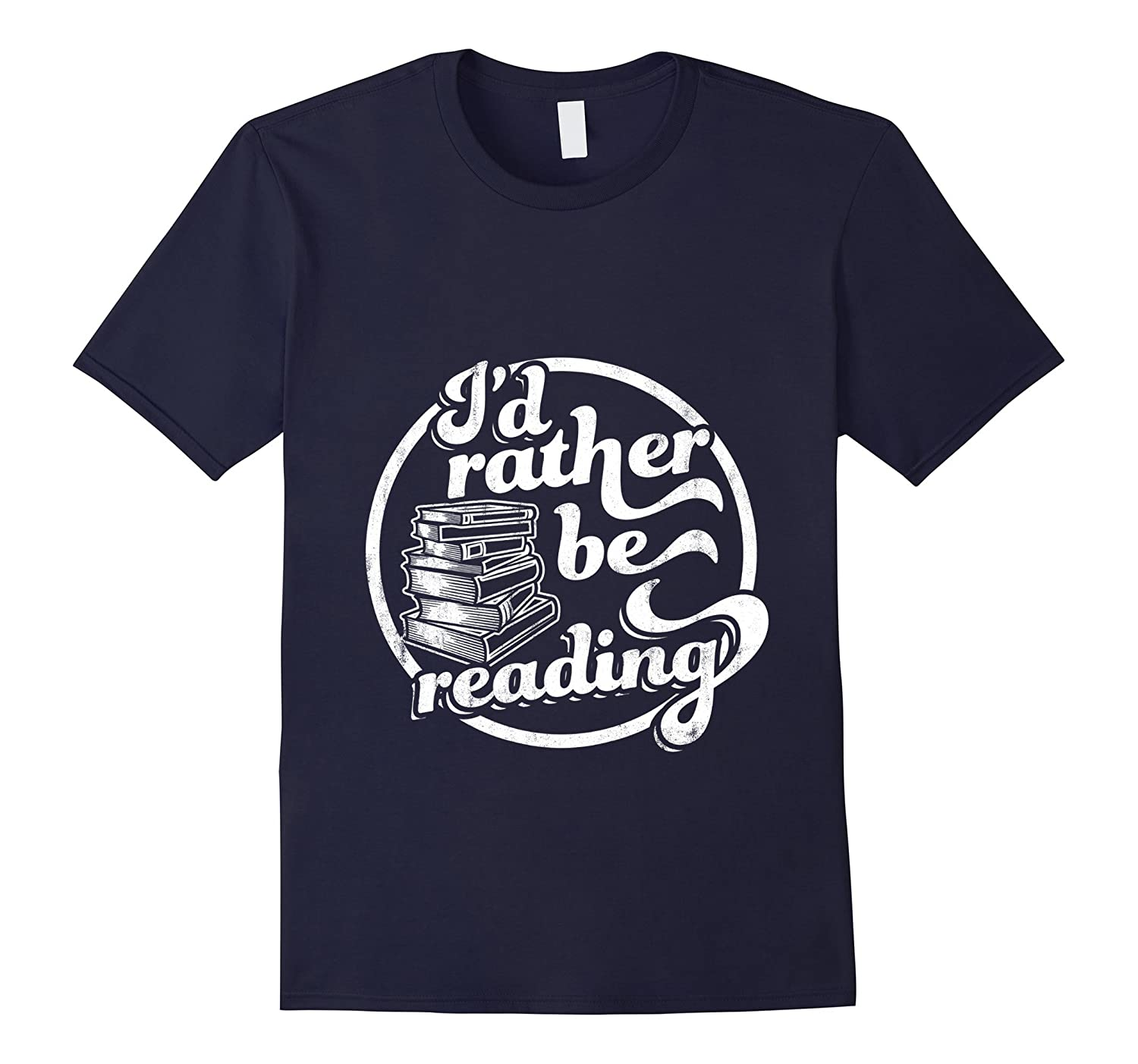 I'd Rather Be Reading T-Shirt-RT