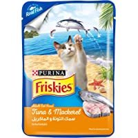 Purina Blue Friskies Tuna and Mackerel Adult Wet Cat Food 80g