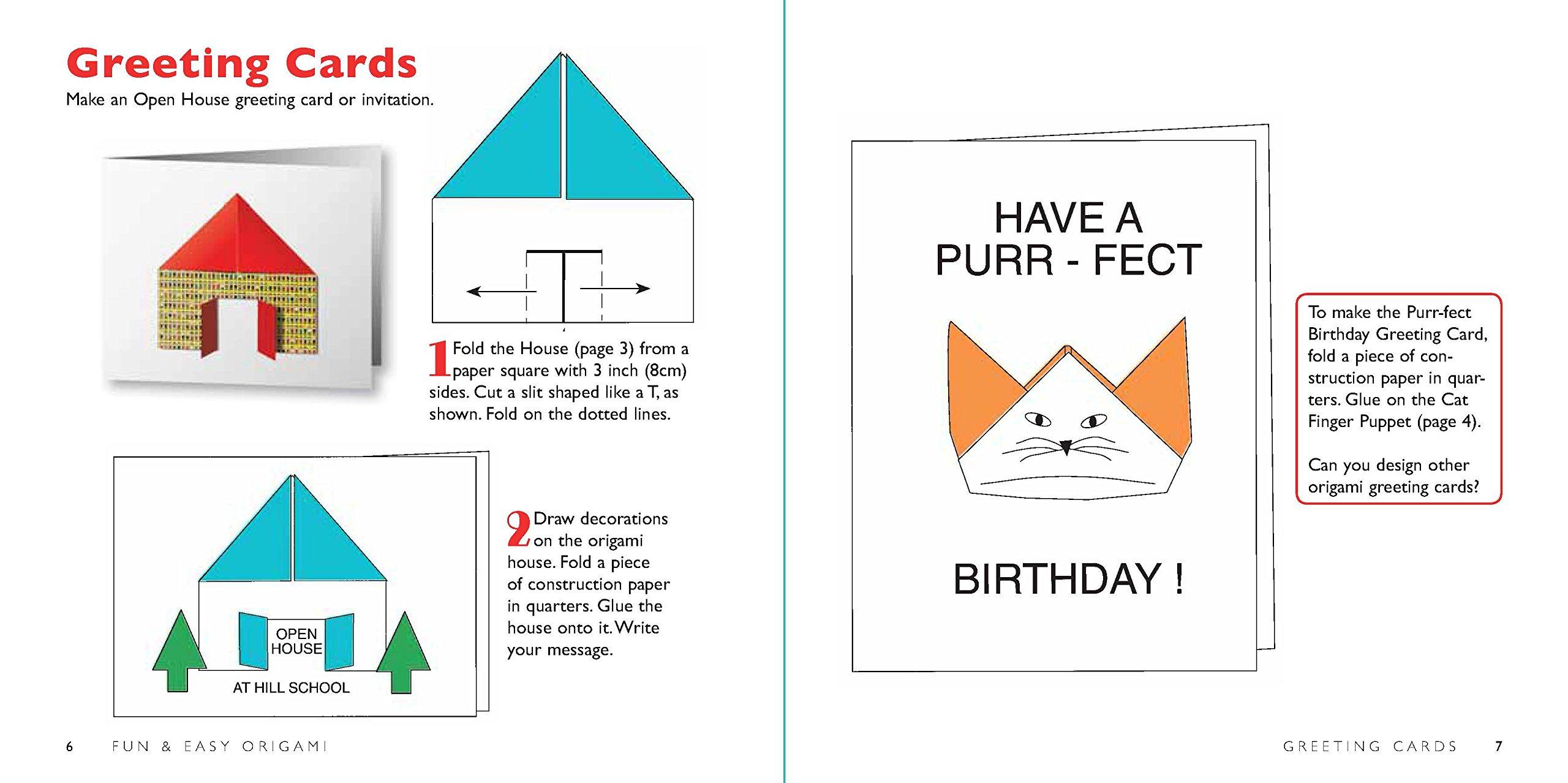 Amazon Com Fun Easy Origami Kit 29 Original Paper Folding