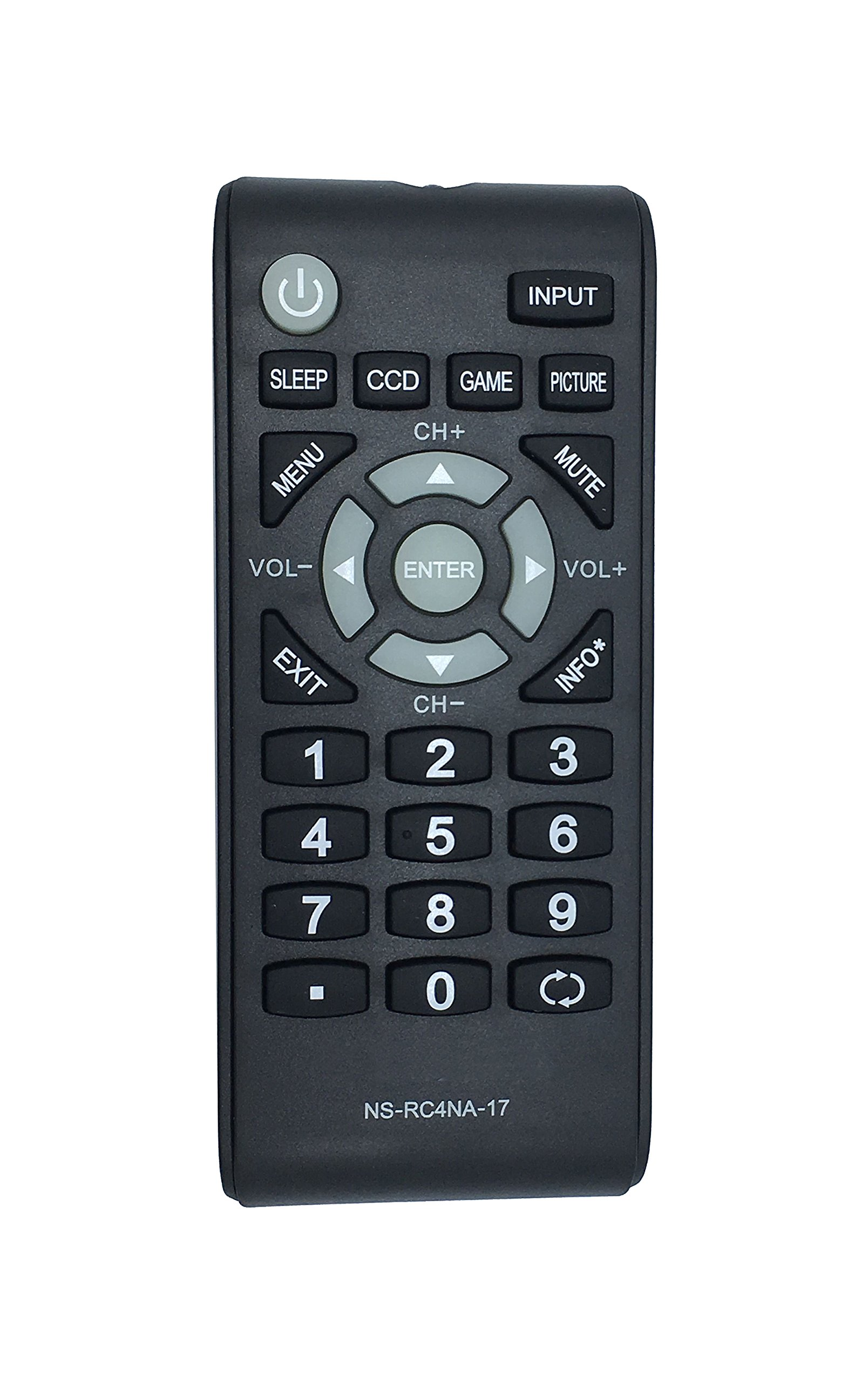 Insignia tv amazon new remote ns rc4na 17 fit for insignia lcd tv ns24d310na17 ns 24d310na17 fandeluxe Image collections