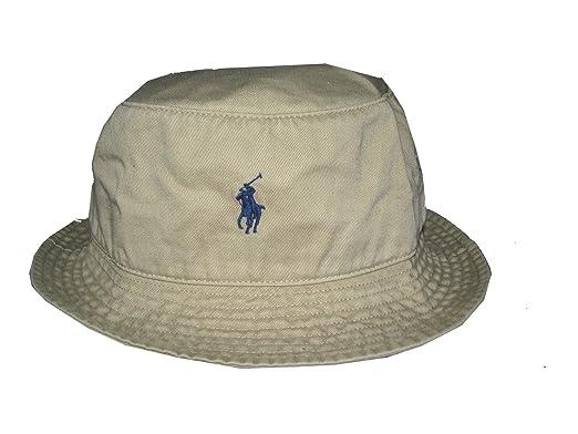 5d6ce6e1 NEW POLO Ralph Lauren 'Explorer' Beige/Tan 100% Chino Cotton Bucket Hat