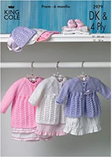9d849a21e Peter Gregory Baby Double Knitting   4 Ply Pattern - Selection of ...