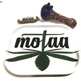MOTAA Rolling ash tray with 10ft of hemp wick multi
