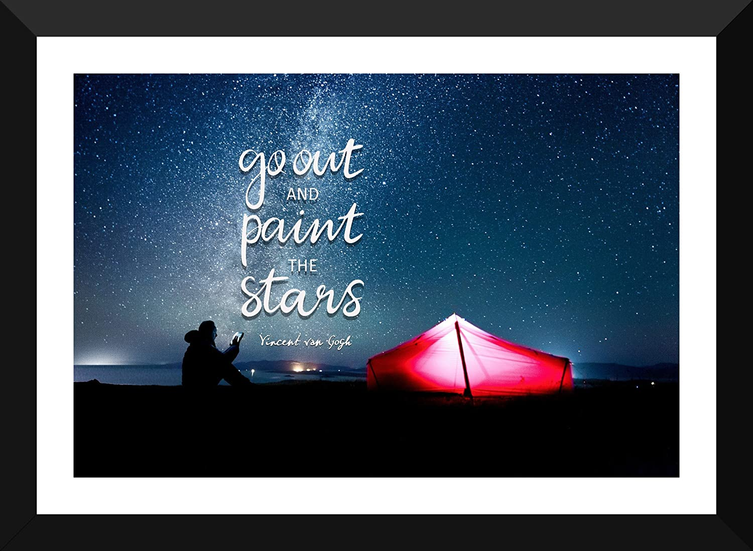 0c2a574698a Wanderlust Poster - Travel Inspirational Quote -