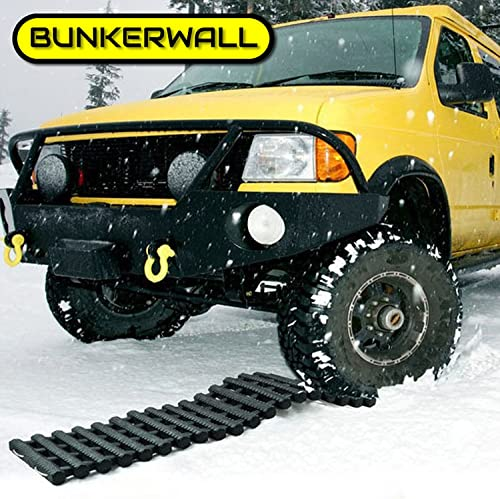 BUNKERWALL One Recovery Track Mat with Carry Bag