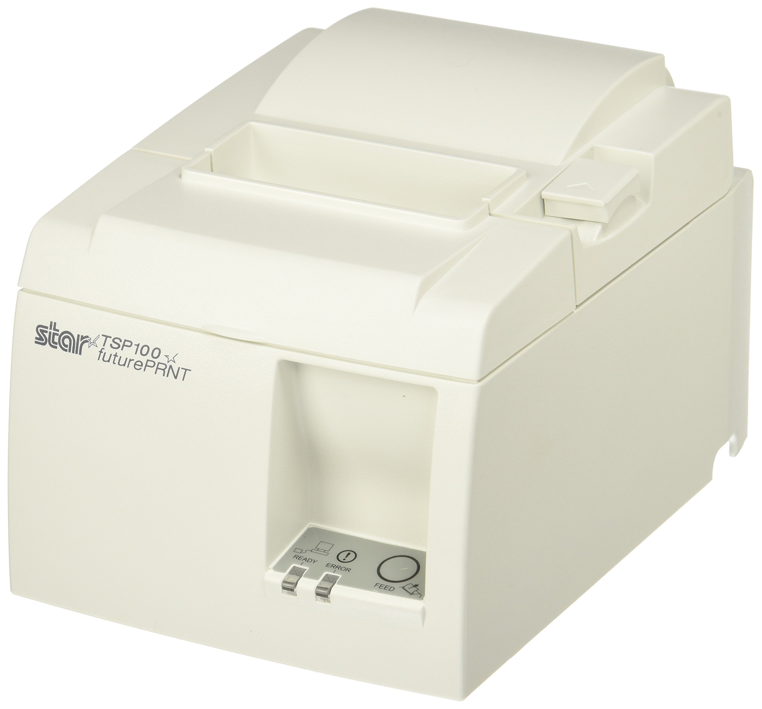 Star Micronics, TSP143L WHT US, Thermal Receipt Printer, Ethernet (cable incl.), Auto Cutter, Internal Power Supply with Power Cable Incl. by Star Micronics