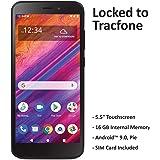 Tracfone BLU View 1 4G LTE - Teléfono Inteligente prepago, Sólo Dispositivo, Negro
