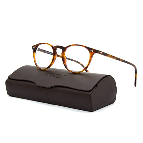 fa3387f58a6 Oliver Peoples 5004 Riley R Eyeglasses 1007 Dark Mahogany   Clear RX Demo  Lenses  Oliver Peoples  Amazon.co.uk  Clothing