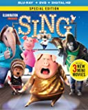 Sing (Blu-ray + DVD + Digital HD)【北米版】