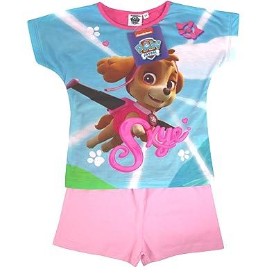 c18247490b4 Paw Patrol Girl's Flying Skye Short Sleeved Summer Pyjamas Set (18-24  Months)