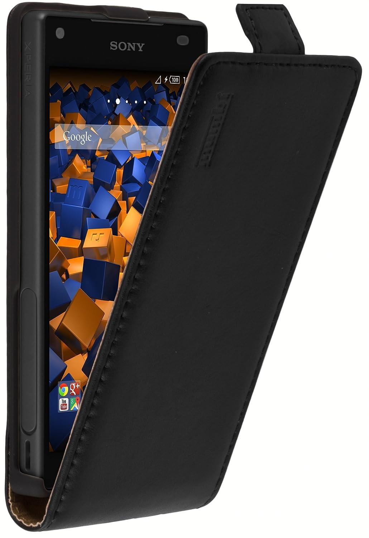 mumbi PREMIUM Leder Flip Case für Sony Xperia Z5: Amazon.de: Elektronik