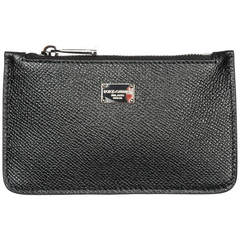 Amazon.com: Dolce&Gabbana men coin purse nero: Clothing
