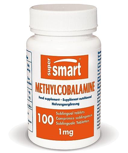 Supersmart MrSmart - Vitaminas - Methylcobalamine 1mg (Metilcobalamina) - La forma más activa de