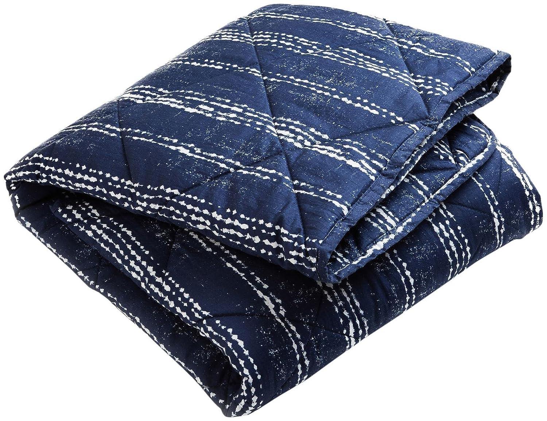 Brooklyn Born Organic Quilt - Shibori, Navy/White, One Size BBB-003